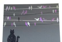 stofFUN ♥ DIY wall art / DIY wall art ideas with fabric