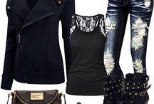 Ripped Jean/shorts/jackets