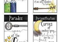 Harry Potter Classroom ⚡️ / Bringing the magic of Harry Potter into my secondary classroom in unexpected ways