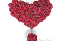 Valentine Crafts with Rinea