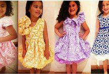 kids island dress