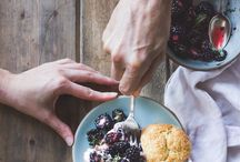 At the table | Bellwether Farms