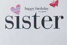 Verjaardag zus