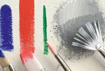 Akrilik boya teknikleri