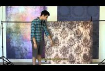 VIDEOS From Backdrop Outlet / Videos showing products to create a home or professional photography studio yourself.  / by BACKDROP OUTLET