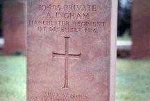 Interesting CWGC graves / headstones