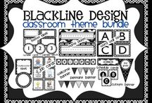 BLACKLINE DESIGN {ink-saving products for teachers} / by Clutter-Free Classroom