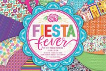First Edition Fiesta Fever / Embrace the excitement and magic of the festival fever with the colourful and decorative Fiesta Fever. Fiesta is a trend that will never go out of fashion with its bold colour palette, your handmade creations will pop with enchantment and joy. Don't be afraid to clash colours, mix up prints and pile on the embellishments to really get into the Mexican spirit.