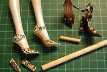 Doll shoes -tutorial