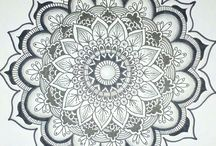 My zentangle designs