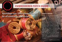 Patch Guide / Have you ever wondered what material etc a patch is made of ... here are your answeres  Please feel free to call us anytime if you have any questions 386-451-4489