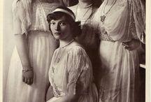 Tsar Nicholas II Romanov and his family