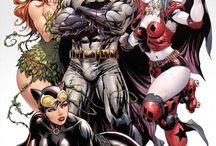 Super Heróis e vilões
