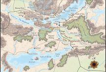 Fantasy Maps & Cartography