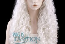 WIF White Wigs / WIF White Lace Front Wigs Collection! http://www.wigisfashion.com/collections/white-lace-front-wigs