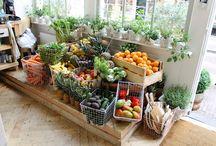 fruit n veg display