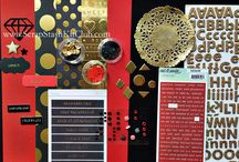 Wings Kit Inspiration / Inspiration for the Wings Scraps Stash Kit. Make your own scrap stash kit! http://www.ScrapStashKitClub.com