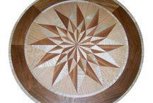 Geometric Floor Medallions / Floor medallions