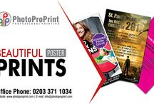 Poster printing / You can place your order for premium poster printing service through our website 24/7 or visit our shop.