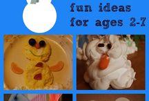 Winter Wonderland / Ideas for the library's Winter Wonderland