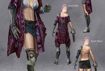 Post-apocalyptic costumes