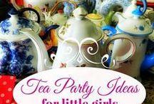 Girls tea time birthday party