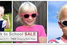 Back To School Sale / Back to School Sale on All Baby and Kids Sunglasses on now at www.firstsunglasses.com