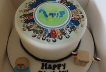 Amy Hetalia Character Cake