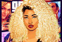 ilustrações (Nicki Minaj)