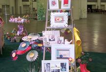 Display your Stampin' Up! Projects / Ways to display you projects at a craft show and great tipps to have more success