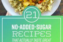 Recipes no sugar