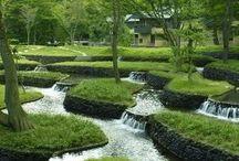 Landscape design - water