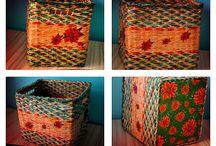 Cutii depozitare handmade personalizate / O cutie poate reprezenta mai mult de un spatiu de depozitare, ea  poate da farmec unui anumit spatiu din casa.
