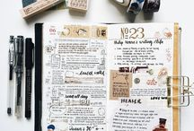 bullet journal/study inspiration