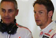 Jenson Button & Martin Whitmarsh