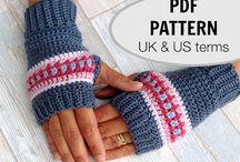 Gloves, boots,socks / Crochet