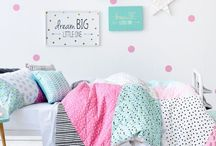 Adairs Kids Dream Room / colour and style for Kristy's room