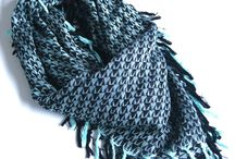 Cozy/fashionable scarves