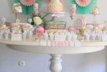 Sweet Table Rosa