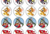 tom and jerry print