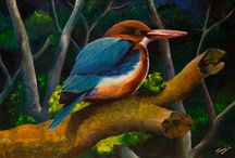 Paintings / Different styles of painting and art by various artists