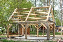 Timber Frame / by Sunshine Farm