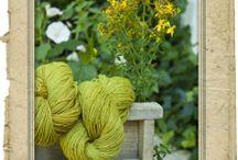 Wolle und Stoffe mit Pflanzen färben