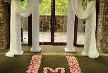 дизайн свадьбы / зал,букеты, пормещение