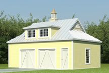 Country-Style Garage Plans