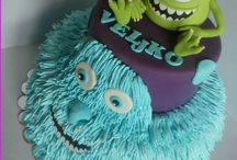 Monster Inc. Cake