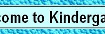 Websites for Kindergarten
