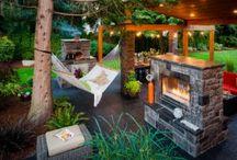 krásně na zahradu / odpočívá si