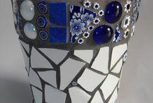 saksı mozaik
