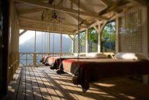 Sleeping porches